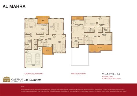 arabian ranches floor plans arabian ranches al mahra floor plans