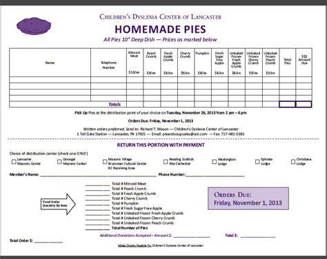 pie bake sale benefit valley of lancaster pennsylvania
