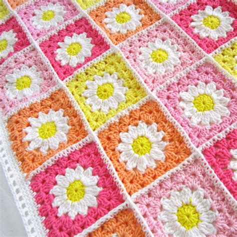 crochet comforter daisy crochet blanket pattern crochet kingdom