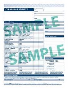 cleaning estimate template free templates for carpet cleaning quotes quotesgram