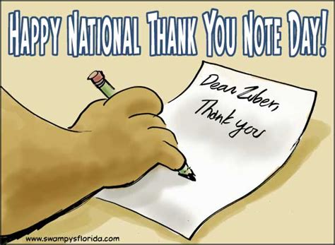 day thank you message swy s florida says happy national thank you note