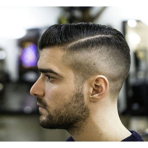 round faced male model half a moon haircut haircuts models ideas
