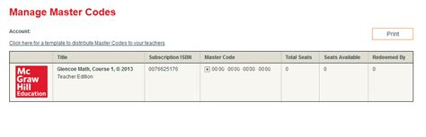 code master mhe connected verify master codes