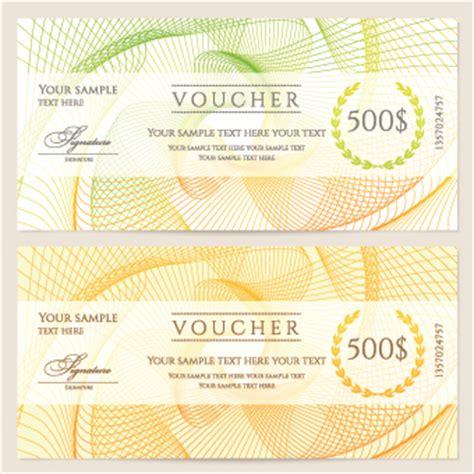 voucher templates free voucher templates free