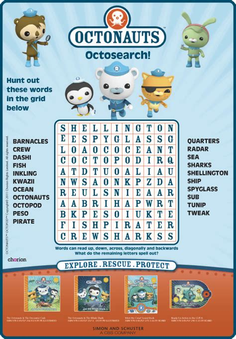 How To Do A Free Asset Search Octonauts Octosearch Scholastic Book Club
