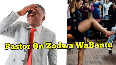 Comic Pastor On Zodwa Wabantu Video Nehanda Tv