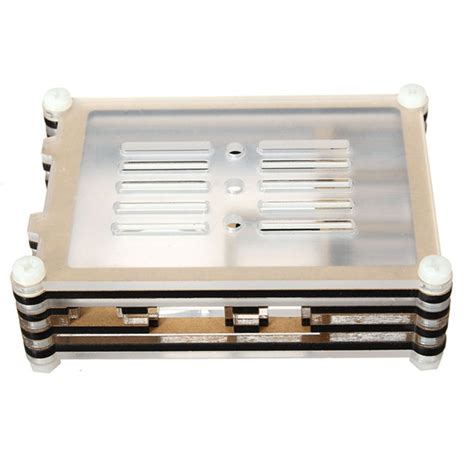 Colorful Arcylic For Raspberry Pi 2 Model B Pcba Promo colorful acrylic shell with a fan for raspberry pi 2 model b alex nld