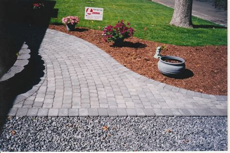 How To Install Patio Pavers Against House Modern Patio How To Lay Pavers For A Patio