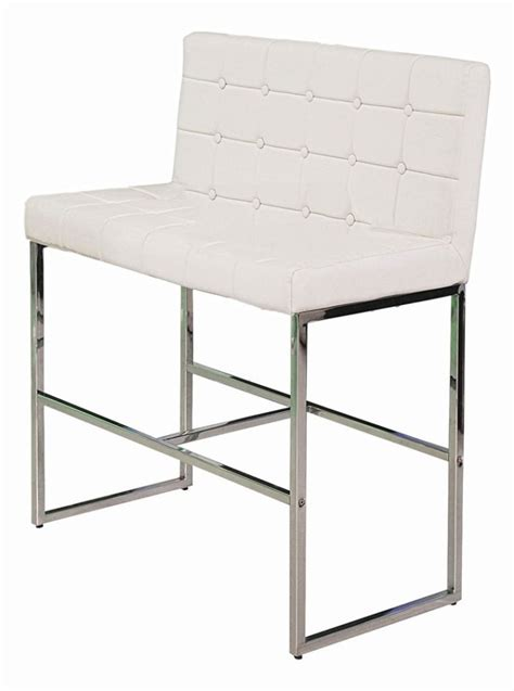tufted leather bar stool bar stool white tufted leather display