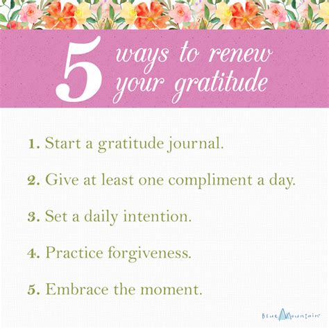 gratitude journal start everyday with gratitude cultivate an attitude of gratitude a guide to cultivate gratitude everyday journal with quotes large size 8 5 x 11 volume 1 books renewing gratitude blue mountain