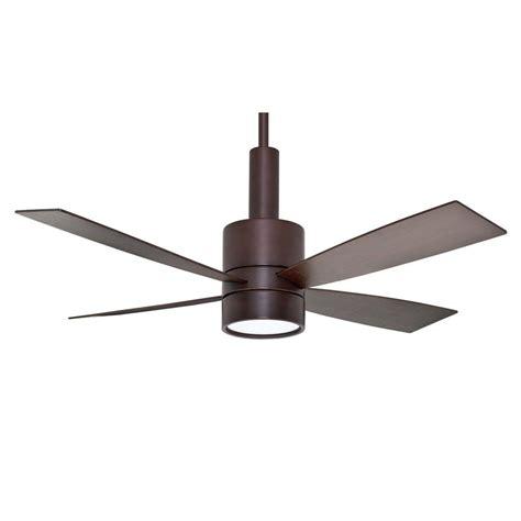 casablanca 59069 bullet ceiling fan brushed cocoa finish modern fan