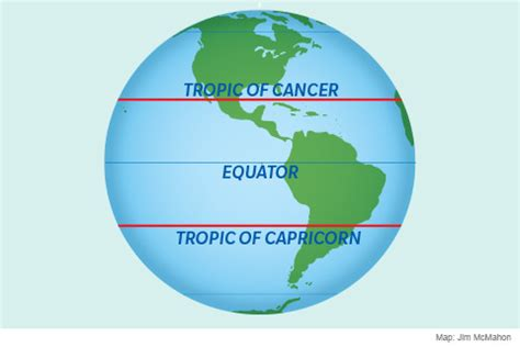 tropic of cancer the tropic of cancer and capricorn science news
