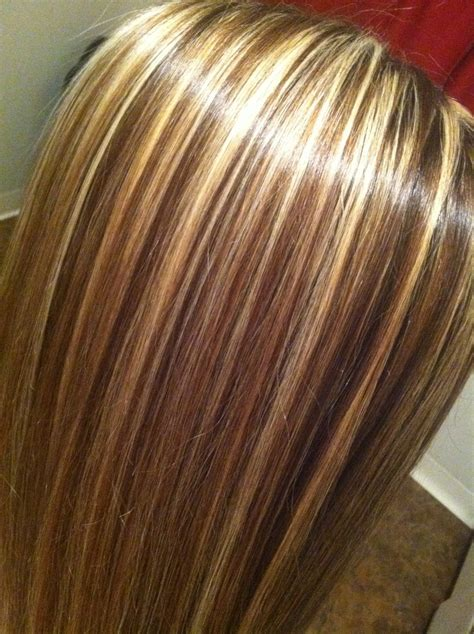 3 color blonde and brown hair foil hair styles highlight blonde hair pinterest