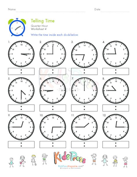 clock worksheets quarter to how to learn what s the time start with telling time