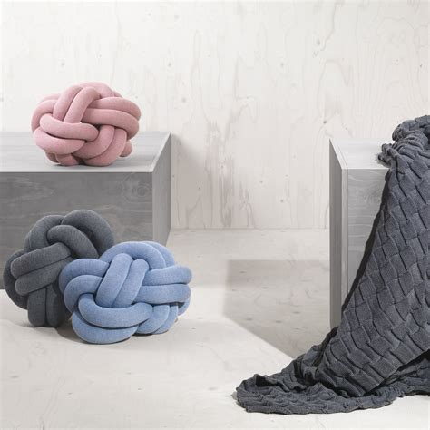 kissen decke knot cushion by design house stockholm
