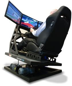 Used Computer Desk For Sale Ckas Thruxim Motion Simulator