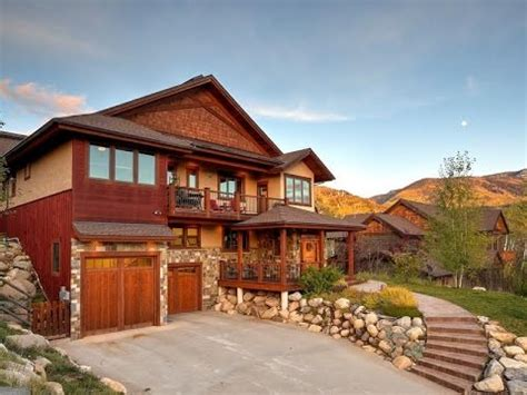 custom mountain home in steamboat springs colorado