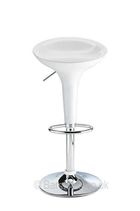 bombay bar stool white