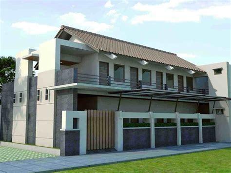 desain kamar kost 2 lantai contoh gambar desain rumah kost minimalis 1 2 lantai