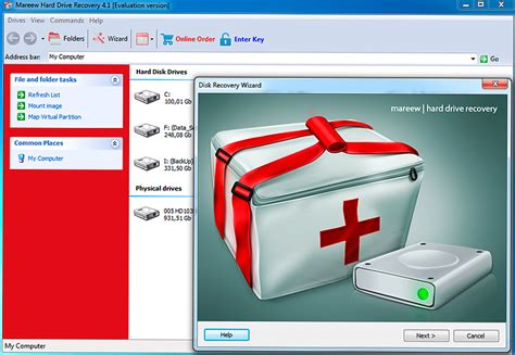 Recovery Harddisk drive recovery free trial recover damaged