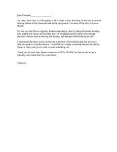 Complaint Letter About Misbehaviour Of Staff Bullying Complaint Letter