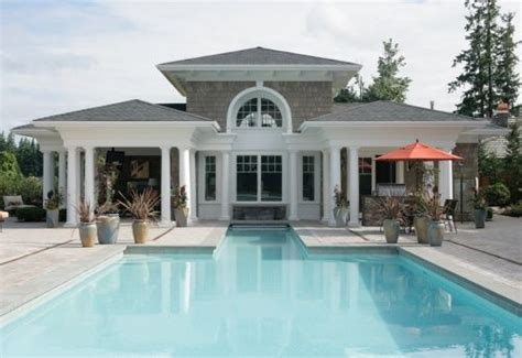 guest pool house designs images my home