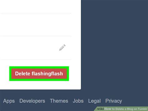 blogger delete blog how to delete a blog on tumblr with pictures wikihow