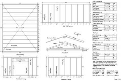gable garden storage shed plans  samples ebay