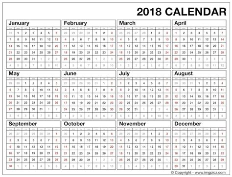 best free 2017 year at a glance calendars home printables