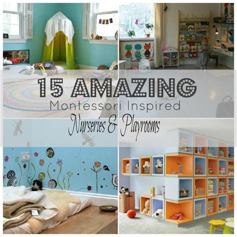 montessori bedroom toddler 15 outstanding montessori playrooms nurseries love