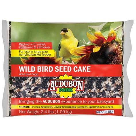 audubon park hummingbird food rating audubon park bird seed cake 2 4 lb at lowes