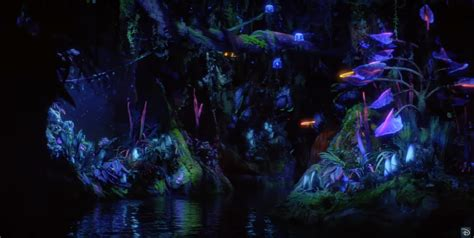 pandora star light machine review video new ride footage of the na vi river journey ride