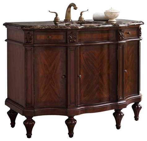 ambella home collection empire sink chest traditional