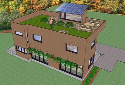 2 storey house with rooftop design 2 story modern trillium architects