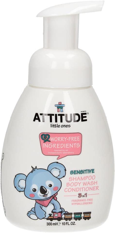 Per Me Shanpoo N Bathwash Baby attitude 3 in 1 shoo wash conditioner fragrance free 300 ml ecco verde