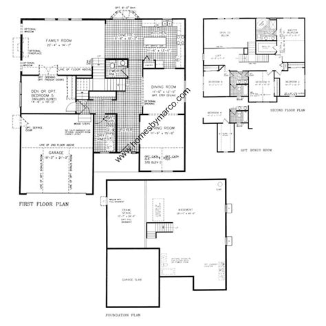 neumann homes floor plans clearwater model in the wesmere subdivision in plainfield