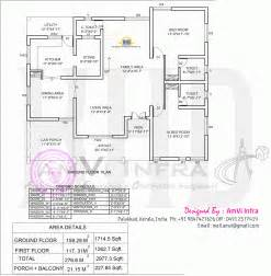 5 bedroom house plan 5 bedroom house elevation with floor plan indian house plans