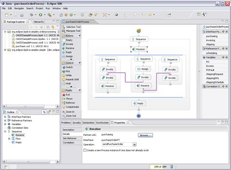 bpel workflow bpel designer project the eclipse foundation