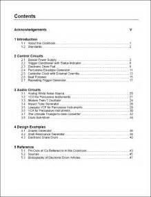 sle apa table of contents page book covers