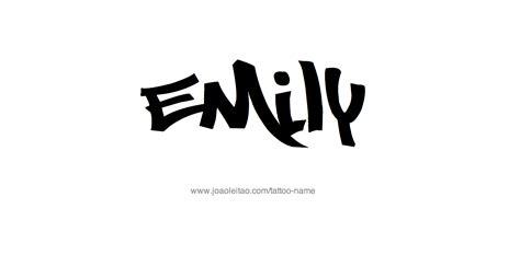 tattoo ideas name emily emily name tattoo designs
