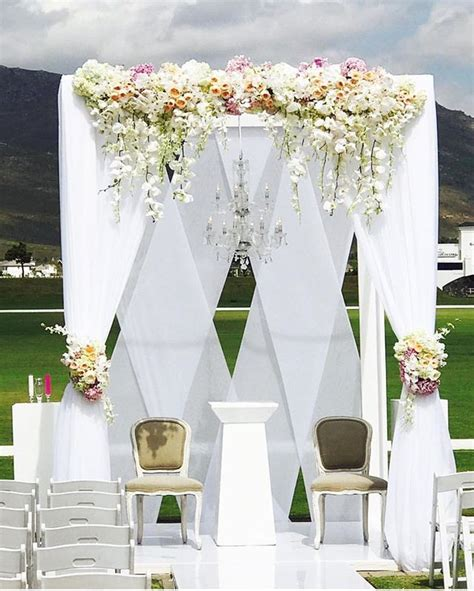 outdoor wedding draping best 25 wedding stage backdrop ideas on pinterest