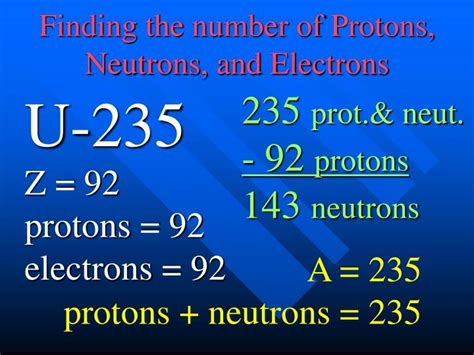 Finding Protons Neutrons And Electrons by Ppt Isotopes Powerpoint Presentation Id 4854680