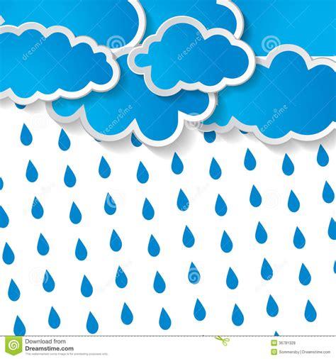 imagenes libres lluvia las nubes con lluvia caen en un fondo blanco fotos de