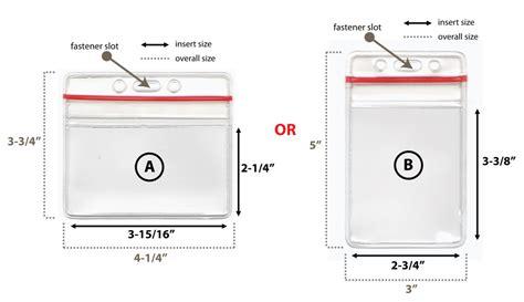 lanyard card size template zip lock id card badge holder with neck lanyard