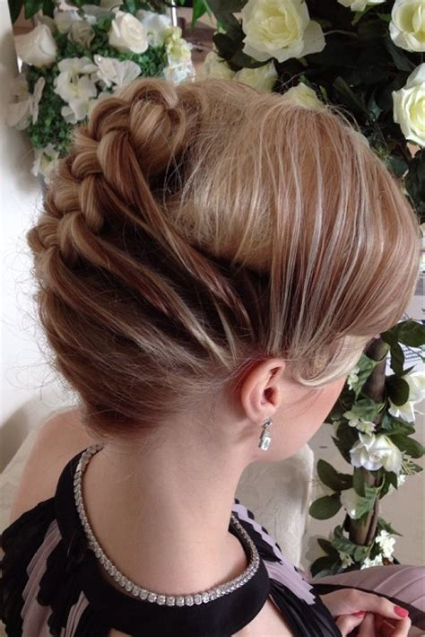 blonde hairstyles updo french braid hairstyles page 2