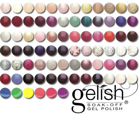 gelish colors mike s nails gelish color gel manicure 78 colors to