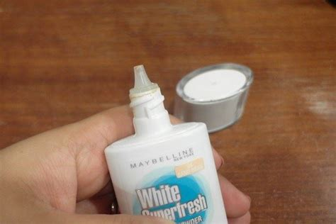 Maybelline White Liquid Powder ร ว ว maybelline liquid powder รองพ นร นใหม ใช แล ว