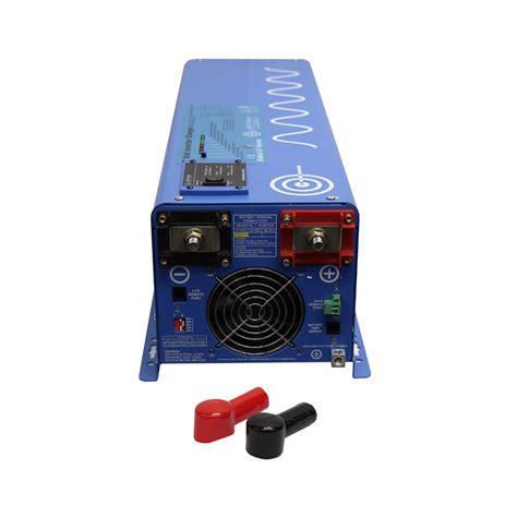 24 volt inverter charger 4000 watt 24 volt sine inverter charger