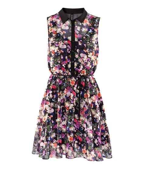 H M Dress by Lyst H M Dress In Black