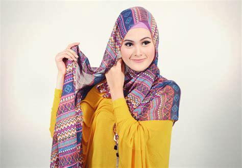 Pashmina Trendy cara memakai jilbab pashmina trendy bersyariat cyberkatrok